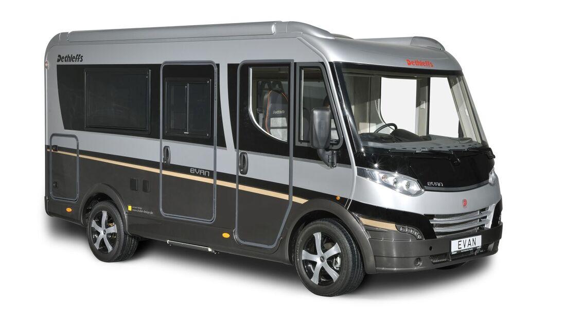 Auf dem Caravan Salon in Düsseldorf wird der Van unter den Reisemobilen erstmals als Serienmodell vorgestellt.
