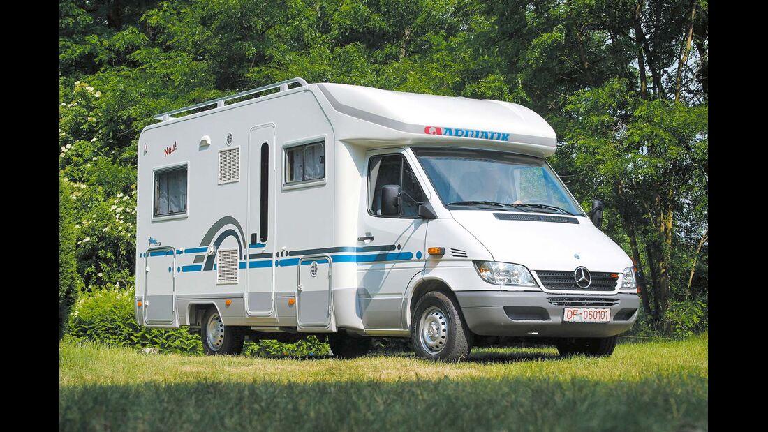 Auf den Namen Stargo hören die Teilintegrierten mit Mercedes-Chassis.