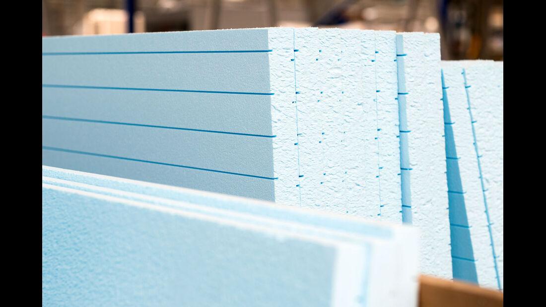 Aufbautechnik: Isoliermaterial