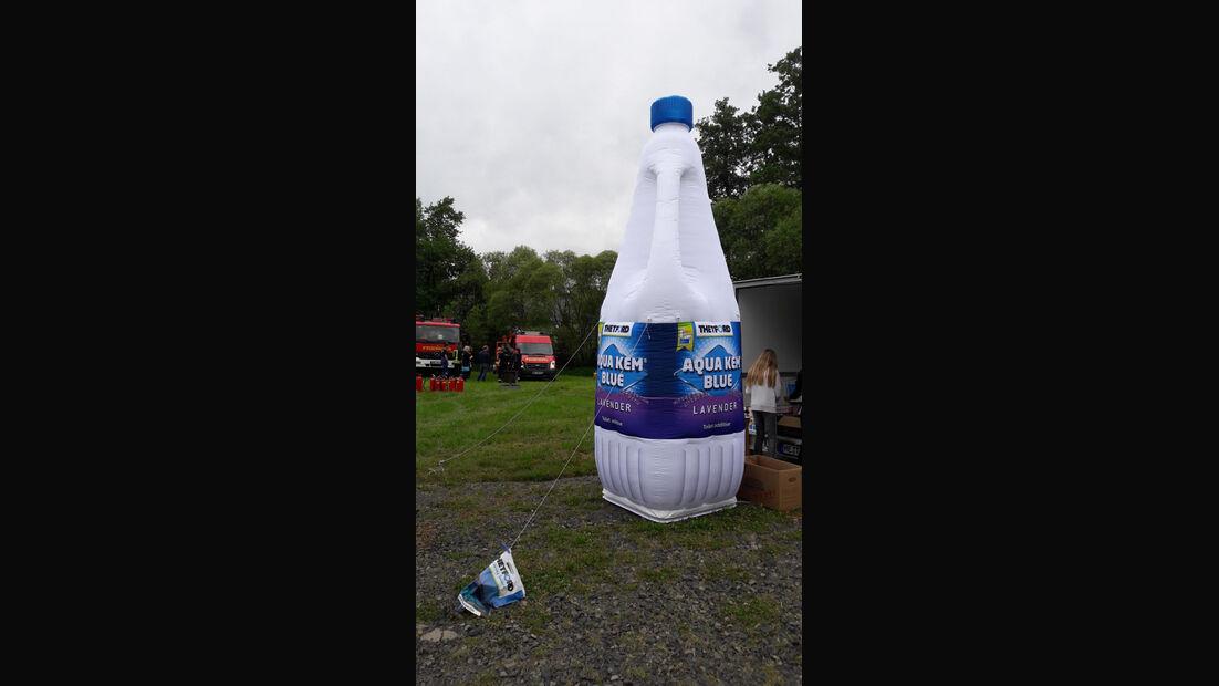 Aufblas Flasche