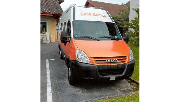 Ausgebauter Iveco Daily Kastenwagen