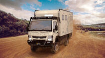 Azimoo Expeditions-Lkw Fuso Canter 4x4