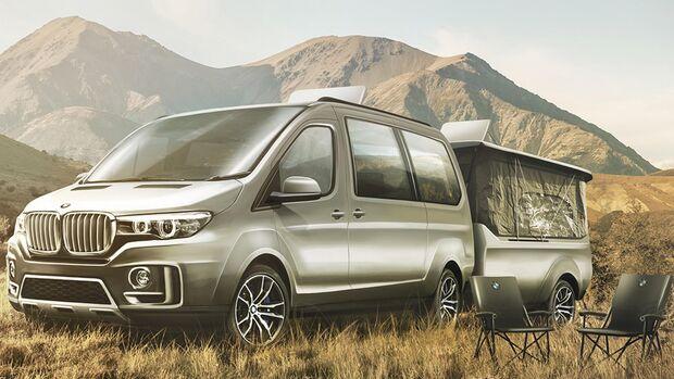 BMW als Camper - Designstudie