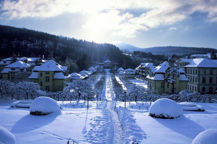 Bad Brückenau im Winter