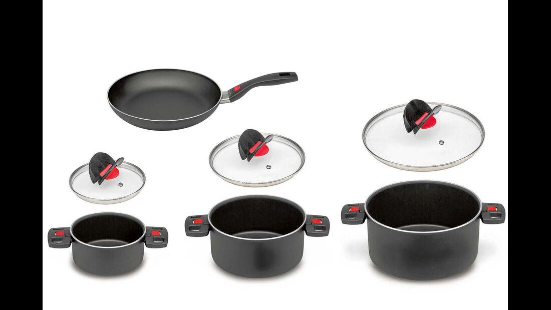 Ballarini Click & Cook-Set + Pfanne