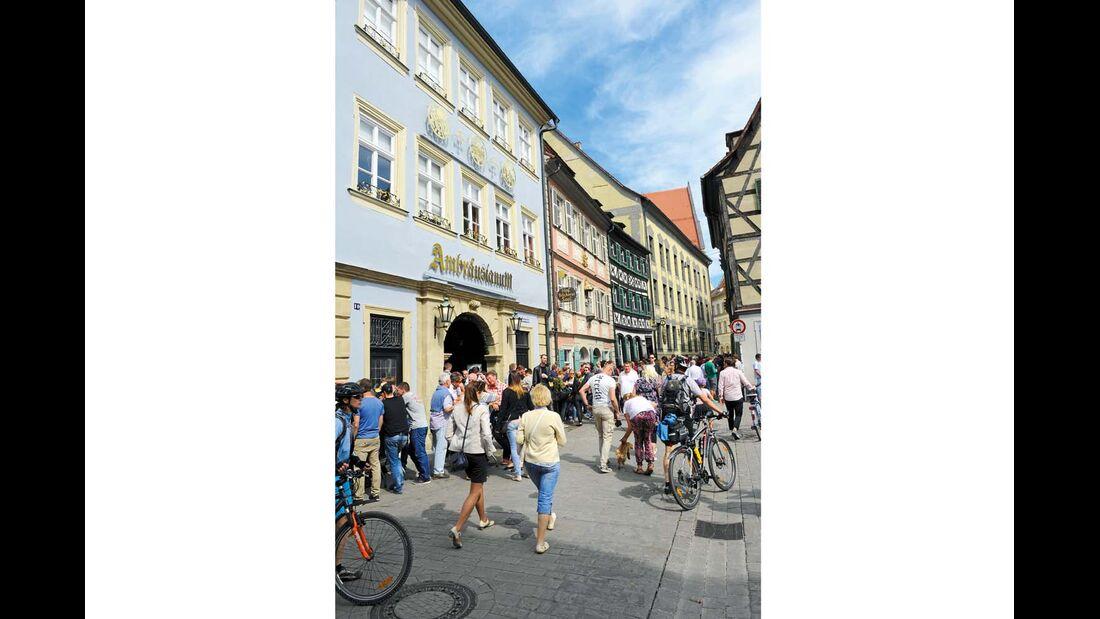 Bamberg ist alte Studentenhochburg und Anziehungspunkt für Urlauber