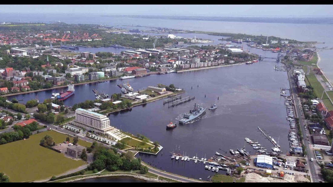 Banter See, Großer Hafen, Wilhelmshaven
