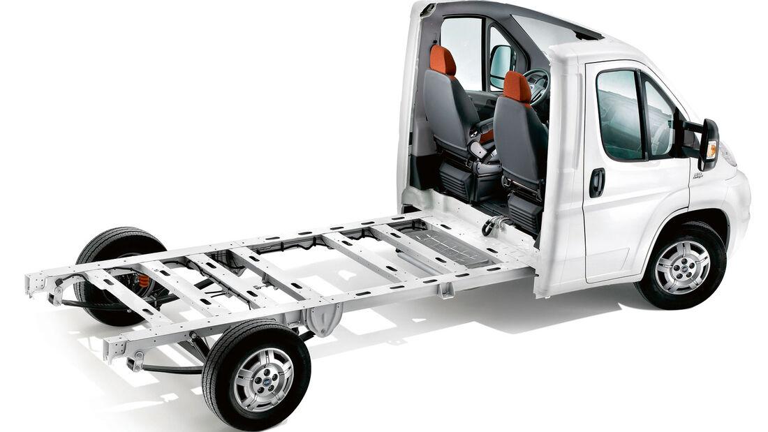 Basisfahrzeug von Wohnmobilen