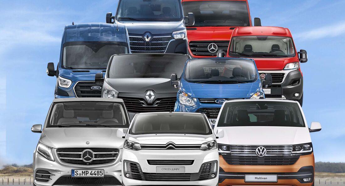 Basisfahrzeuge Vergleich