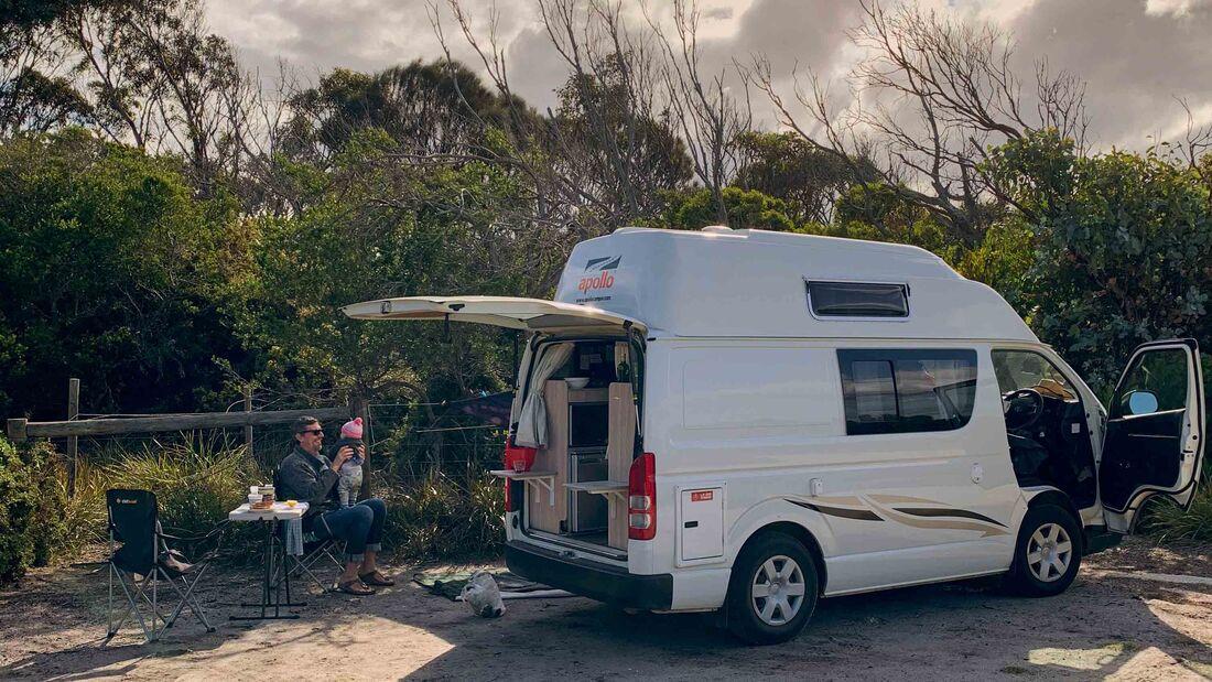 Bay of Fires, Tasmanien