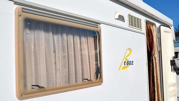 Bei manchen Modellen bereiten Fenster und Aufbautür Probleme.