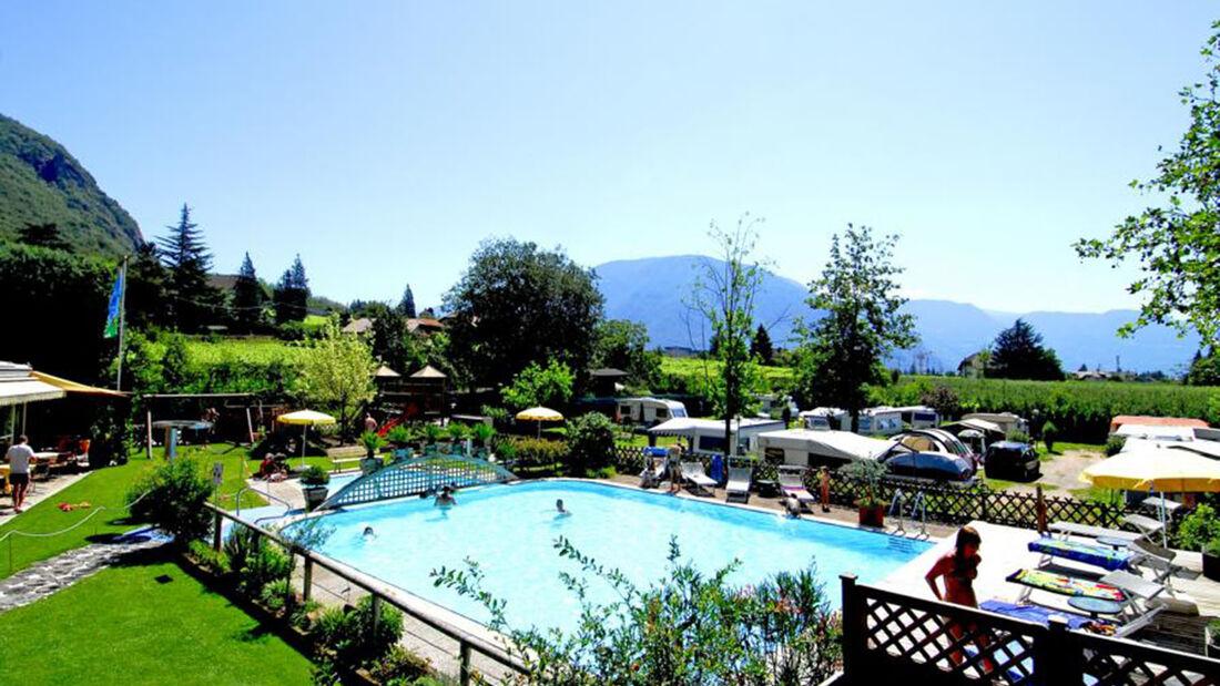 Beim Camping lernen ist das Motto bei Camping Moosbauer in Südtirol.