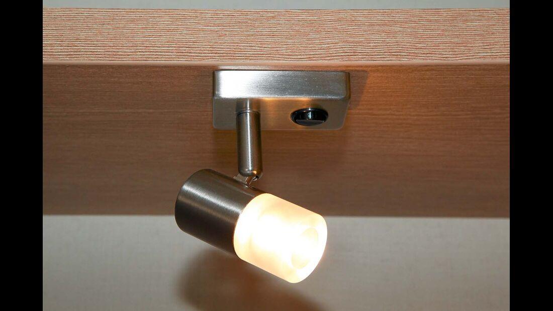Beleuchtungsausstattung setzt durchgängig auf sparsame und langlebige LED-Technik beim Sunlight T 60