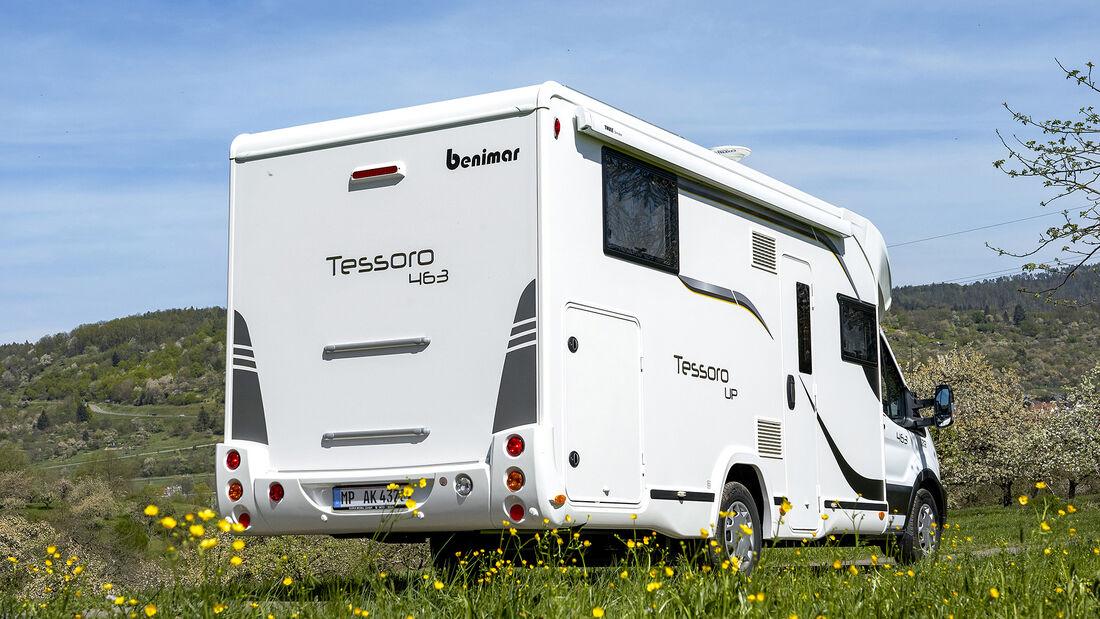 Benimar Tessoro 463 Up (2021) im Test