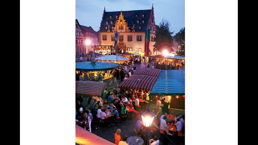 Bereits zum 70. Mal wird in diesem Jahr das Odenwälder Winzerfest in Groß-Umstadt gefeiert.