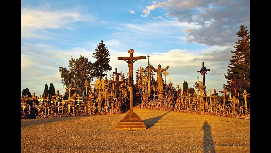 Berg der Kreuze in Litauens Norden