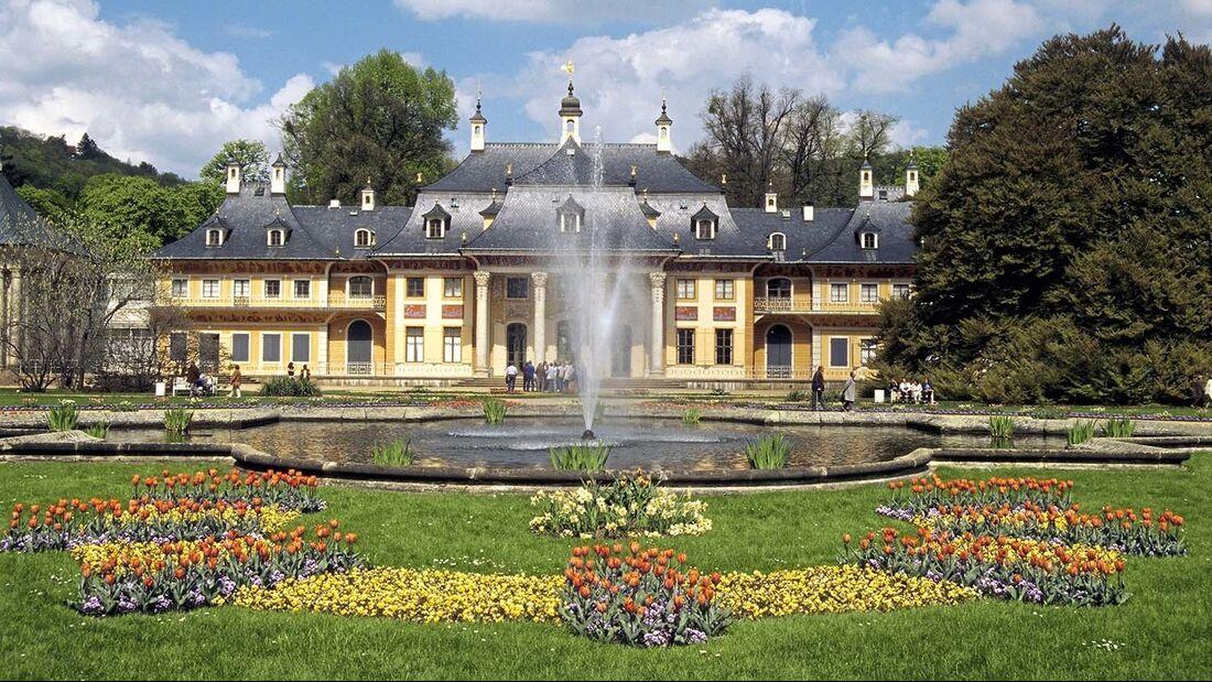 Bergpalais Park Pillnitz Schloss