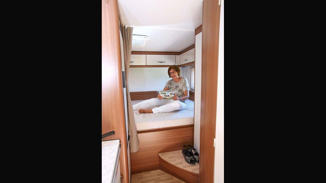 Bett beim LMC Breezer V 636 G