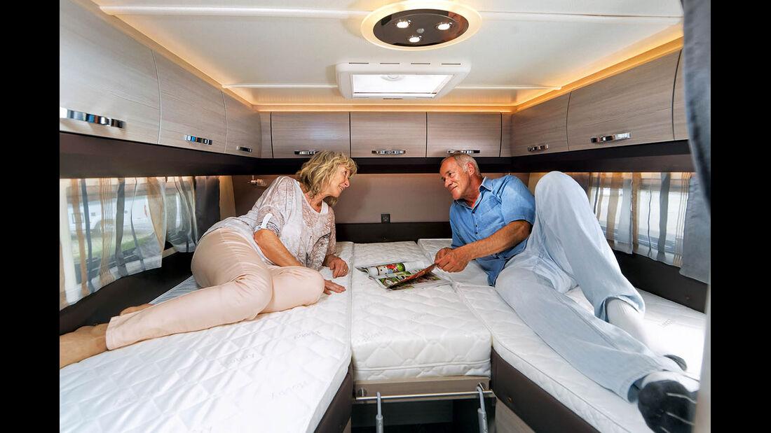 Betten mit Kaltschaummatratzen und Lattenrosten