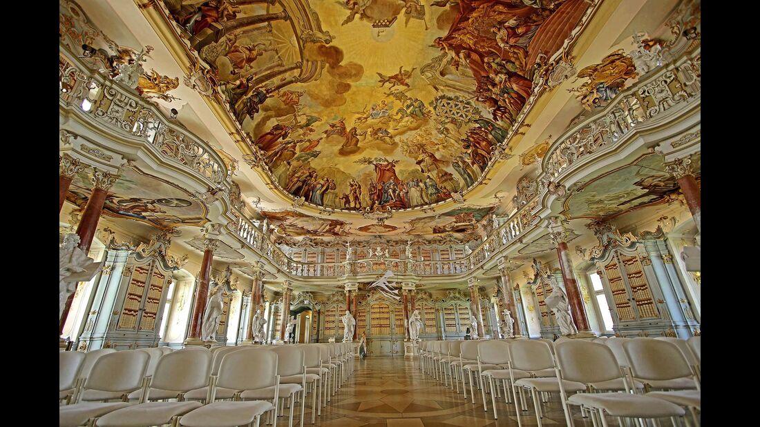Bibliothekssaal Kloster Schussenried