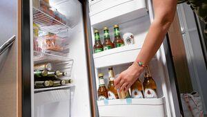 Bier im Kühlschrank