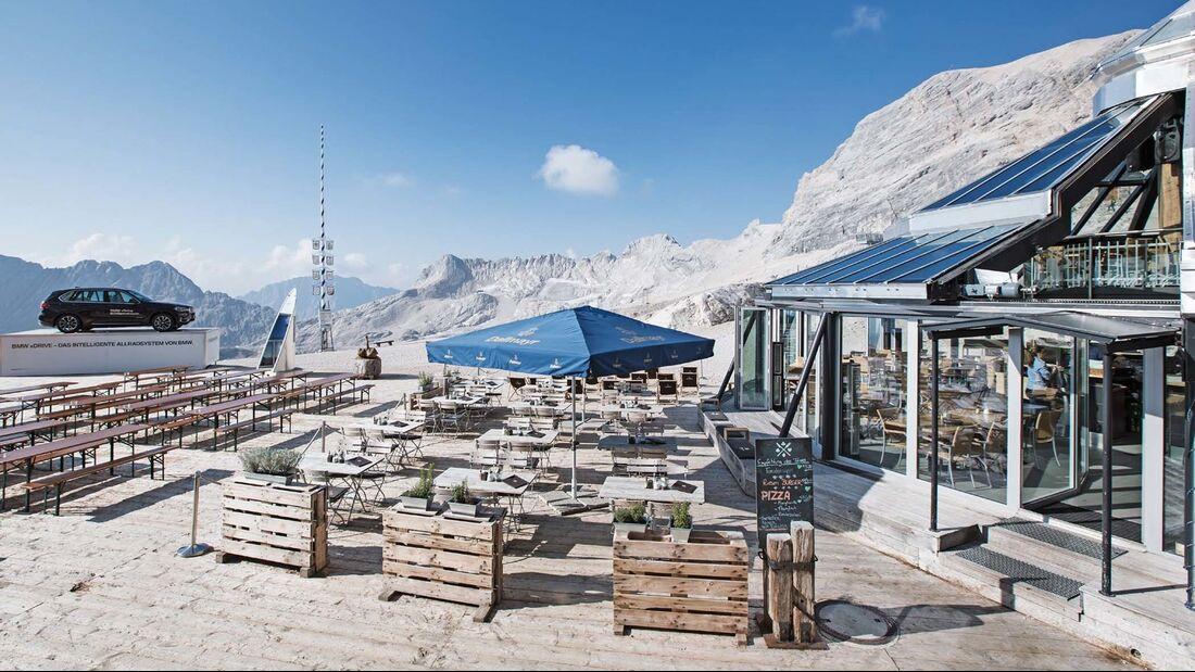 Biergarten Gletschergarten Zugspitze