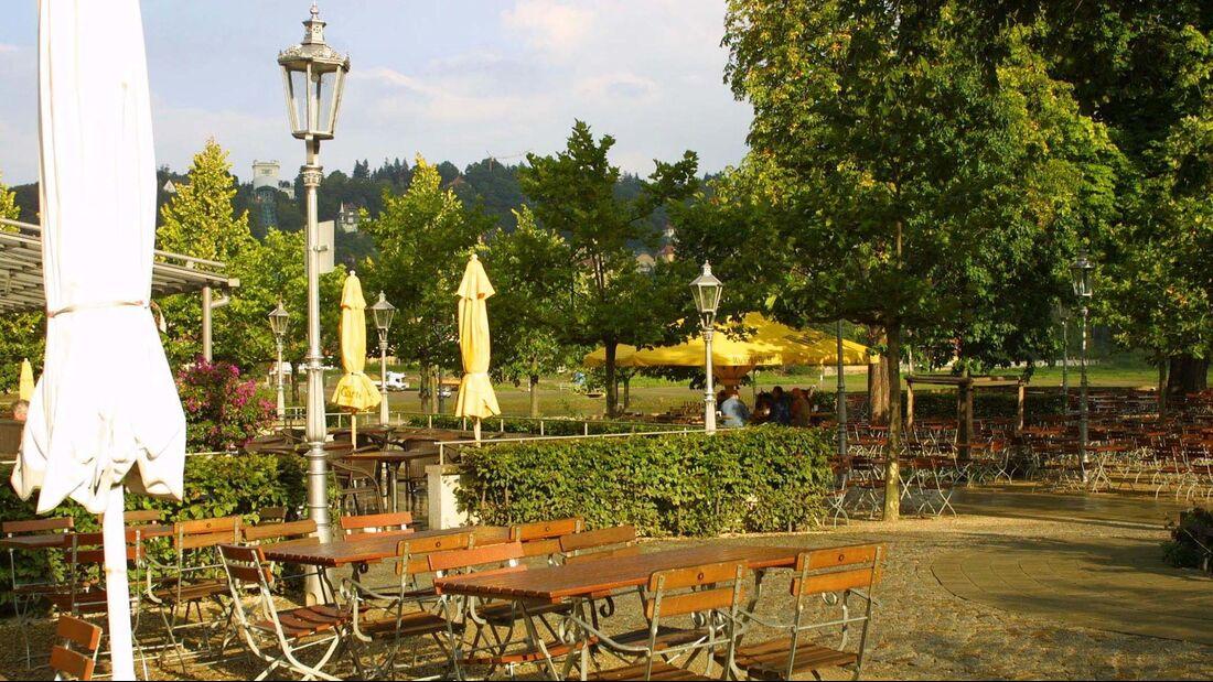 Biergarten Schillergarten Dresden