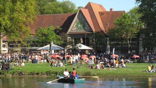 Biergarten Stadtwaldhaus