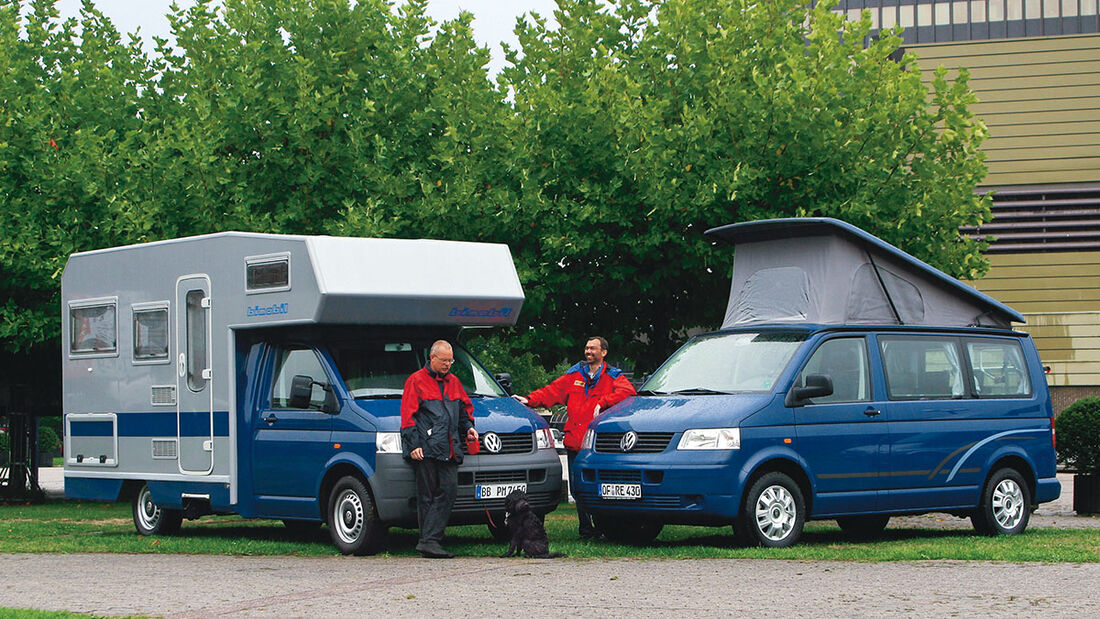Bimobil und Reimo Caravan Salon 2003