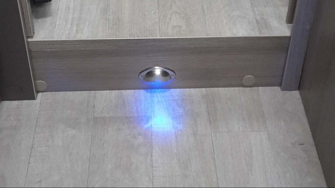 Blendschutz fürs Nachtlicht