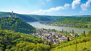 Blick über das Tal zwischen Braubach und Spay.