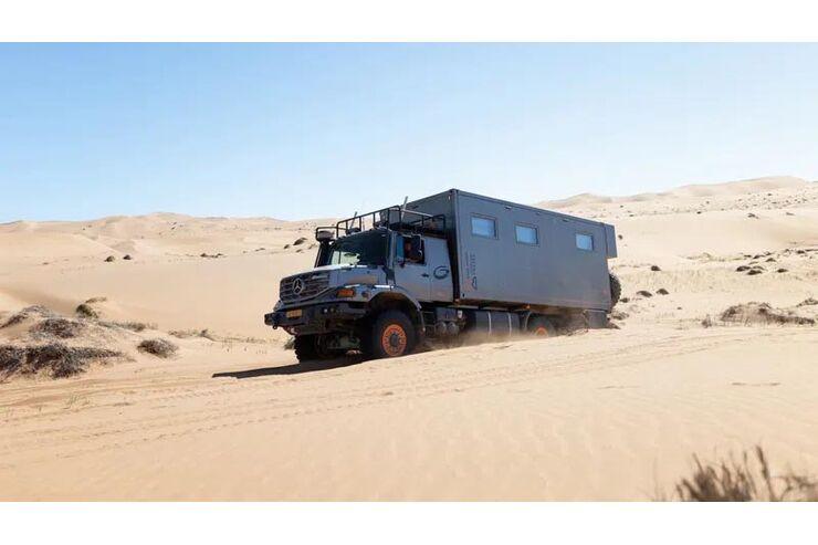 Blissmobil Expeditionsmobile 2022: Unimog und Mercedes-Lkw als Extrem-Offroad-Camper