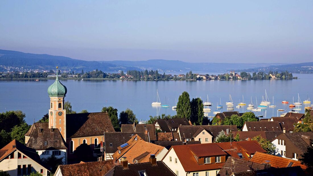 Bodensee, Camping