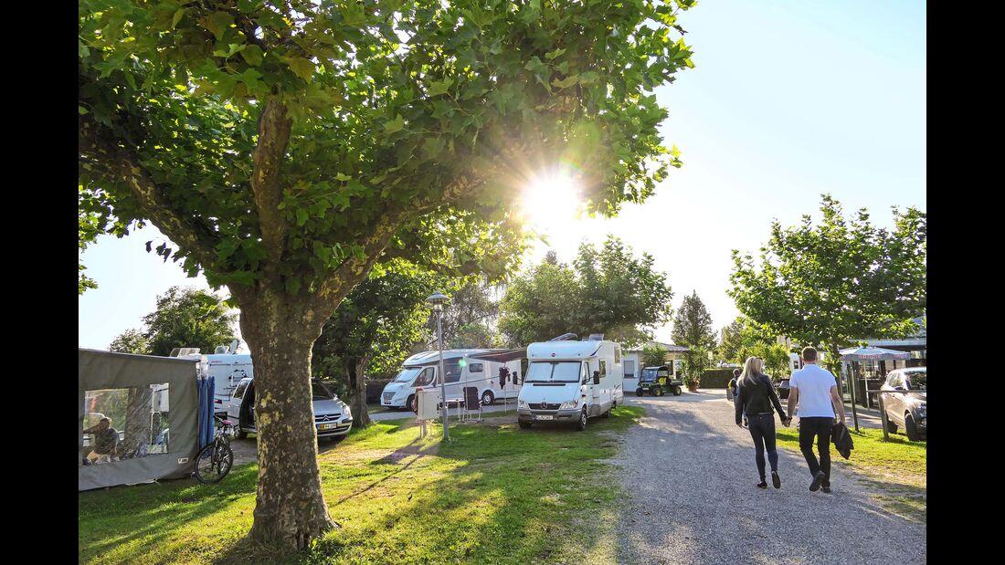 Bodensee Campingplatz Alpenblick bei Hagnau