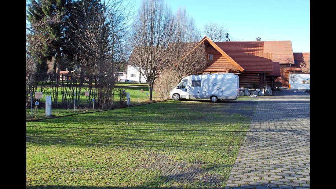 Bodensee Lindau Übernachtungsplätze vor dem Gitzenweiler Hof