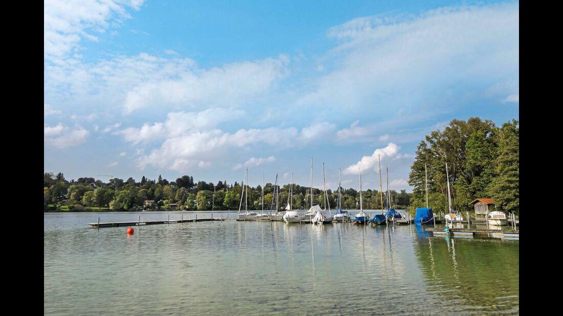 Bootssteg am Pilsensee