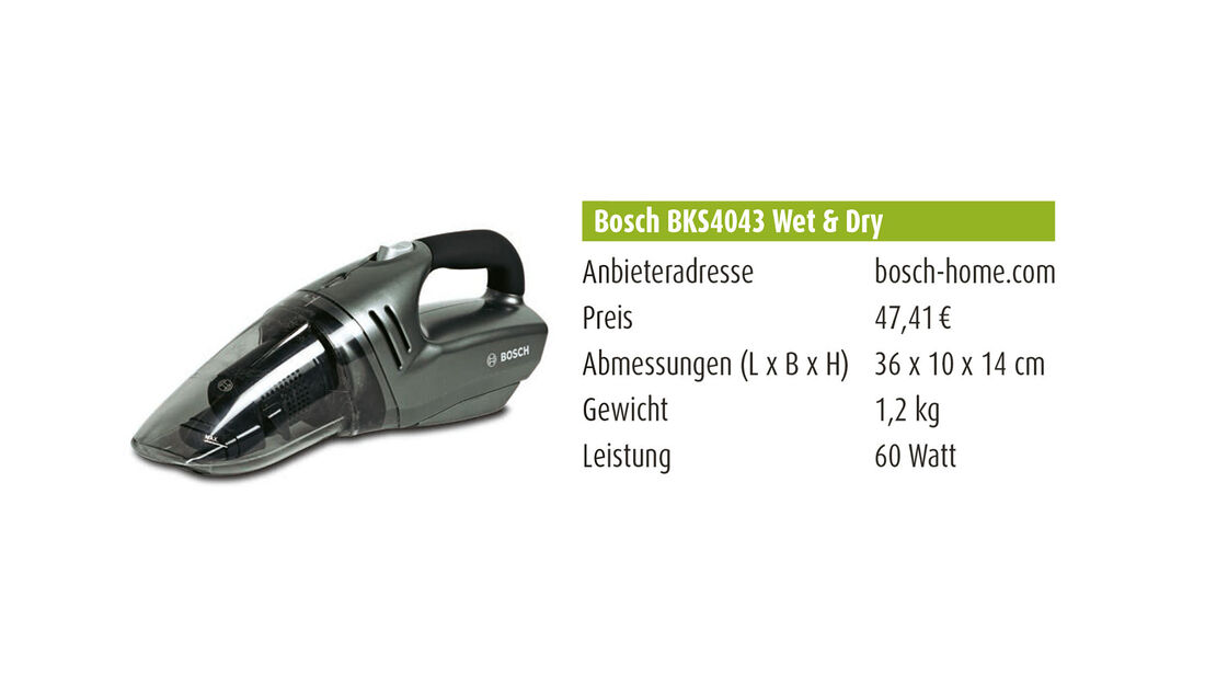 Bosch BKS4043 Wet & Dry