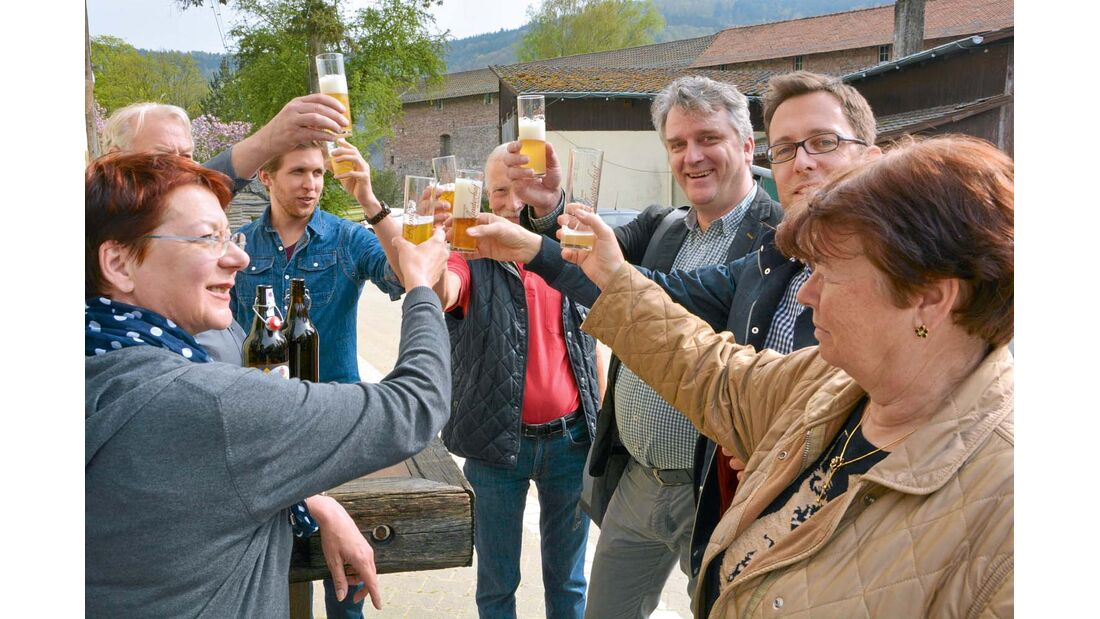 Brauereien laden zu Führungen und Verkostungen ein