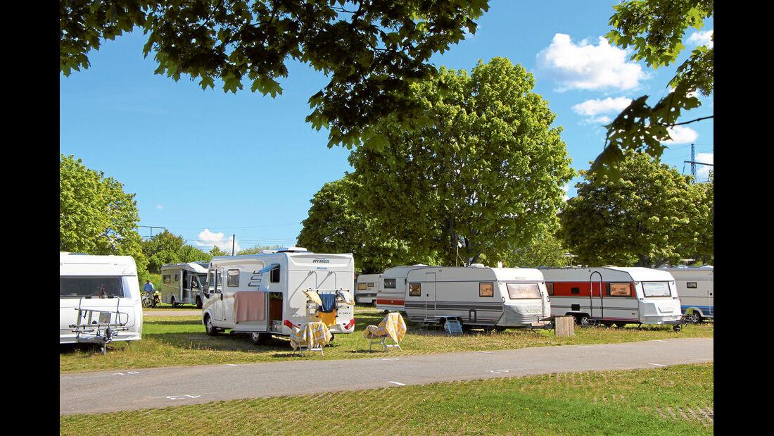 Bredäng Camping in der Nähe von Stockholm