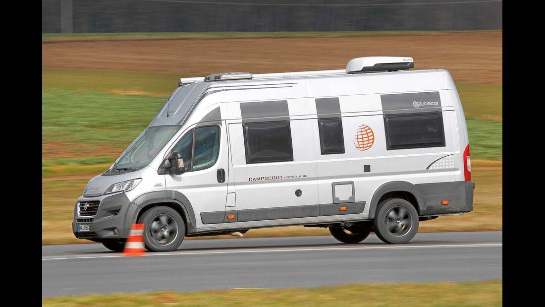 Bremsung aus 100 km/h bis Stillstand