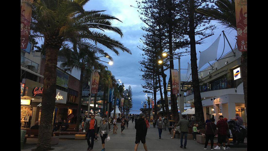 Brisbane am Abend