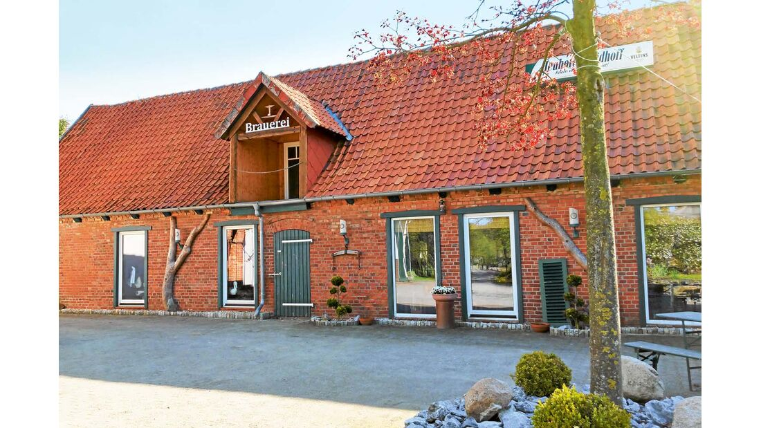 Bruchhausen in der Mittelweserregion hat seit zwei Jahren ein Hofbräuhaus