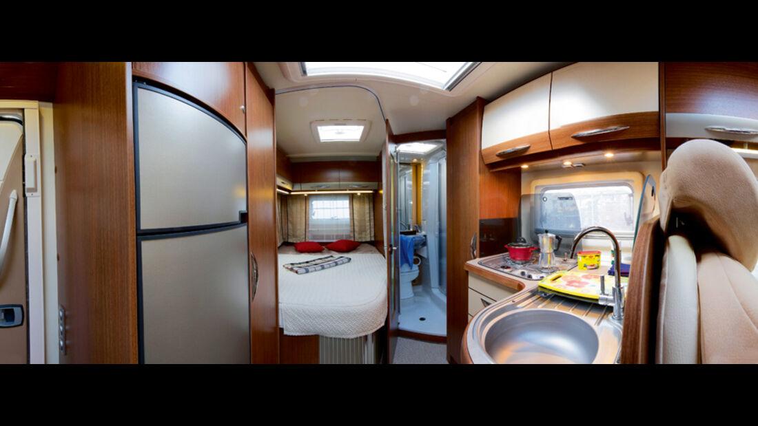 Bürstner Aero Van t 700 Innenraum