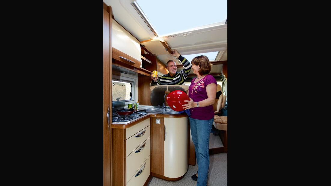 Bürstner Aero Van t 700 Küche