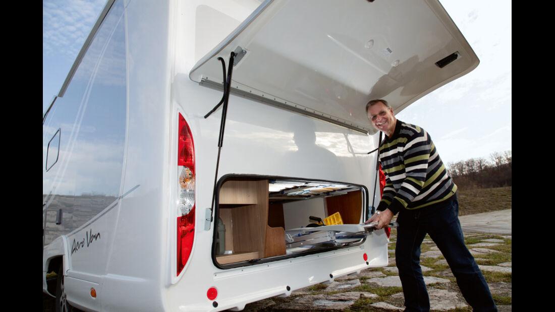 Bürstner Aero Van t 700 Kofferraum