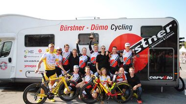 Bürstner-Dümo-Cycling Team 2014