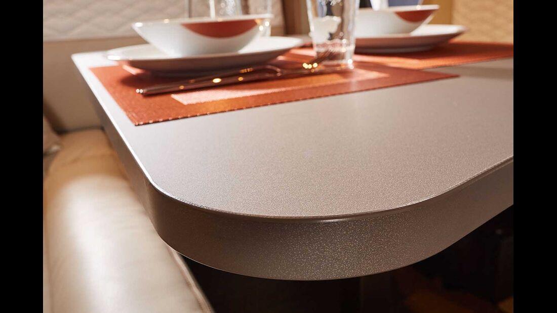 Bürstner Lyseo I Harmony Tisch Detail