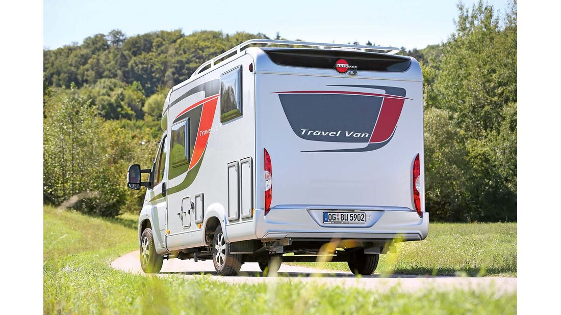 Bürstner Travel Van t 590 G Heckansicht