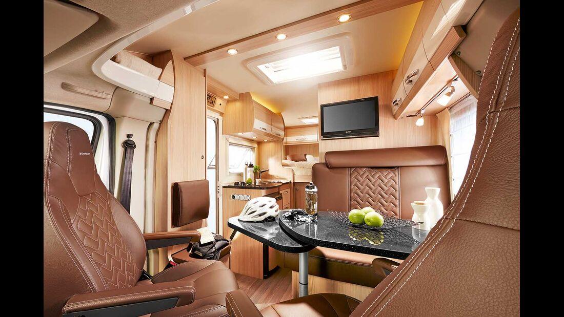 Bürstner Travel Van t 590 G Sitzgruppe