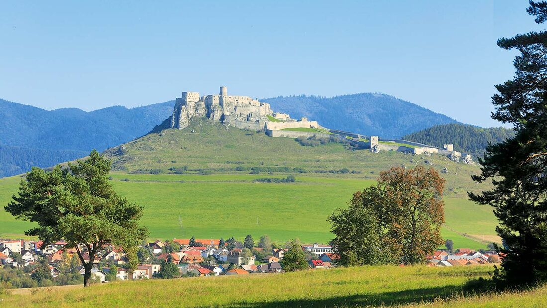 Burg Zips in der Slowakei